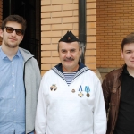 Санкт-Петербург, Парголово, День ВМФ 30.07.2017. Встреча первого экипажа К-451