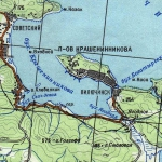 Карта бухты Крашенинникова