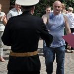Санкт-Петербург, Парголово, День ВМФ 31.07.2016. Встреча первого экипажа К-451