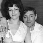 Голубец В.Н. с женой Валентиной
