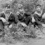 Айвазян (справа),  Белобородов (в центре), Ломков Борис