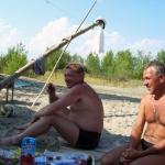 День ВМФ 2008 год. Новосибирск